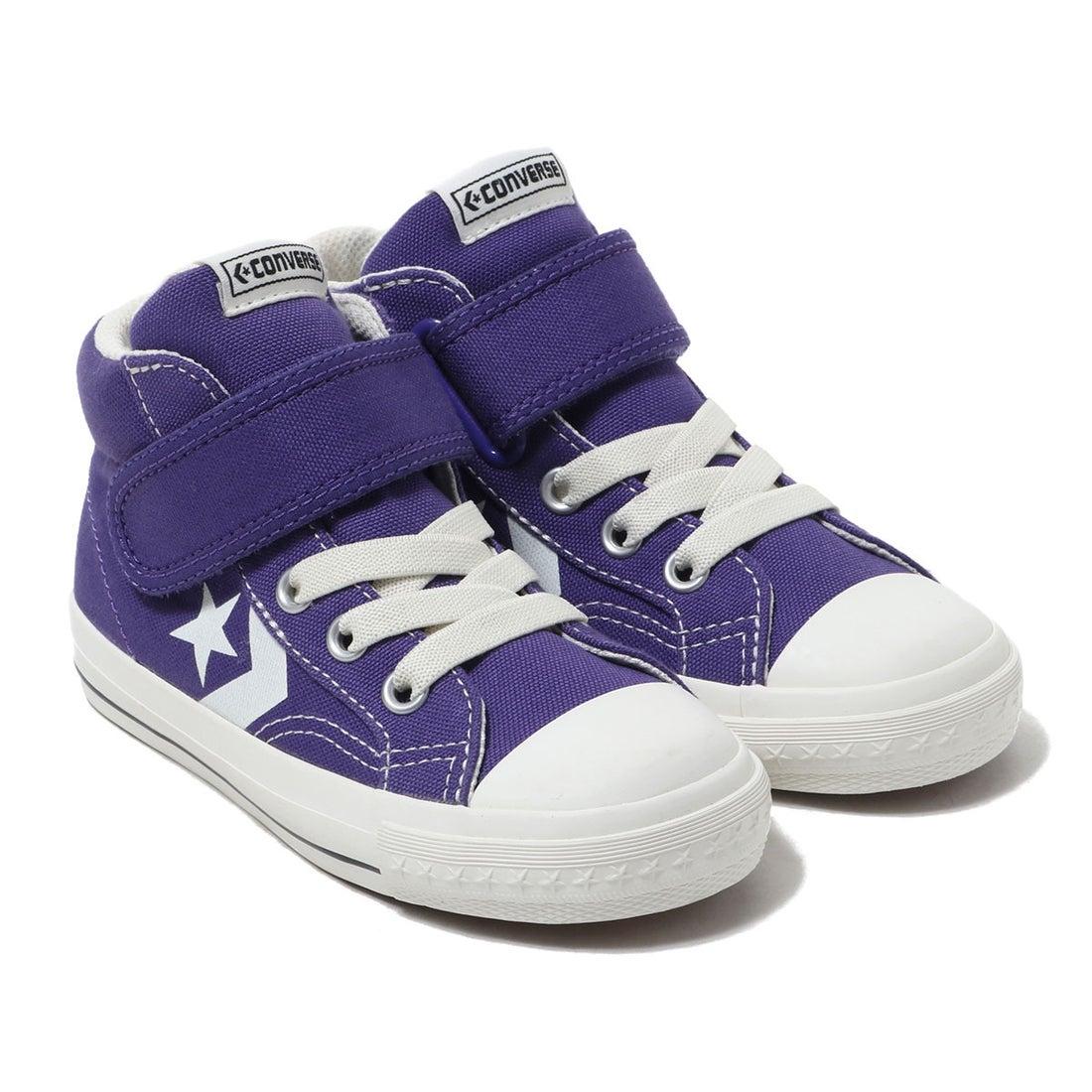 ロコンド 靴とファッションの通販サイトコンバース CONVERSE CONVERSE KIDS CX-PRO SK V-1 MID (PURPLE)