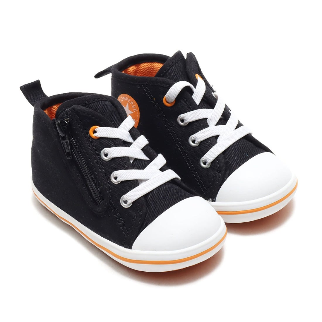 ロコンド 靴とファッションの通販サイトコンバース CONVERSE BABY ALL STAR N DRIPPATCH Z (BLACK)