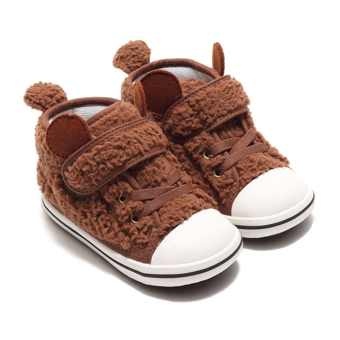 ロコンド 靴とファッションの通販サイトコンバース CONVERSE BABY ALL STAR N BOAKUMA V-1 (BROWN)