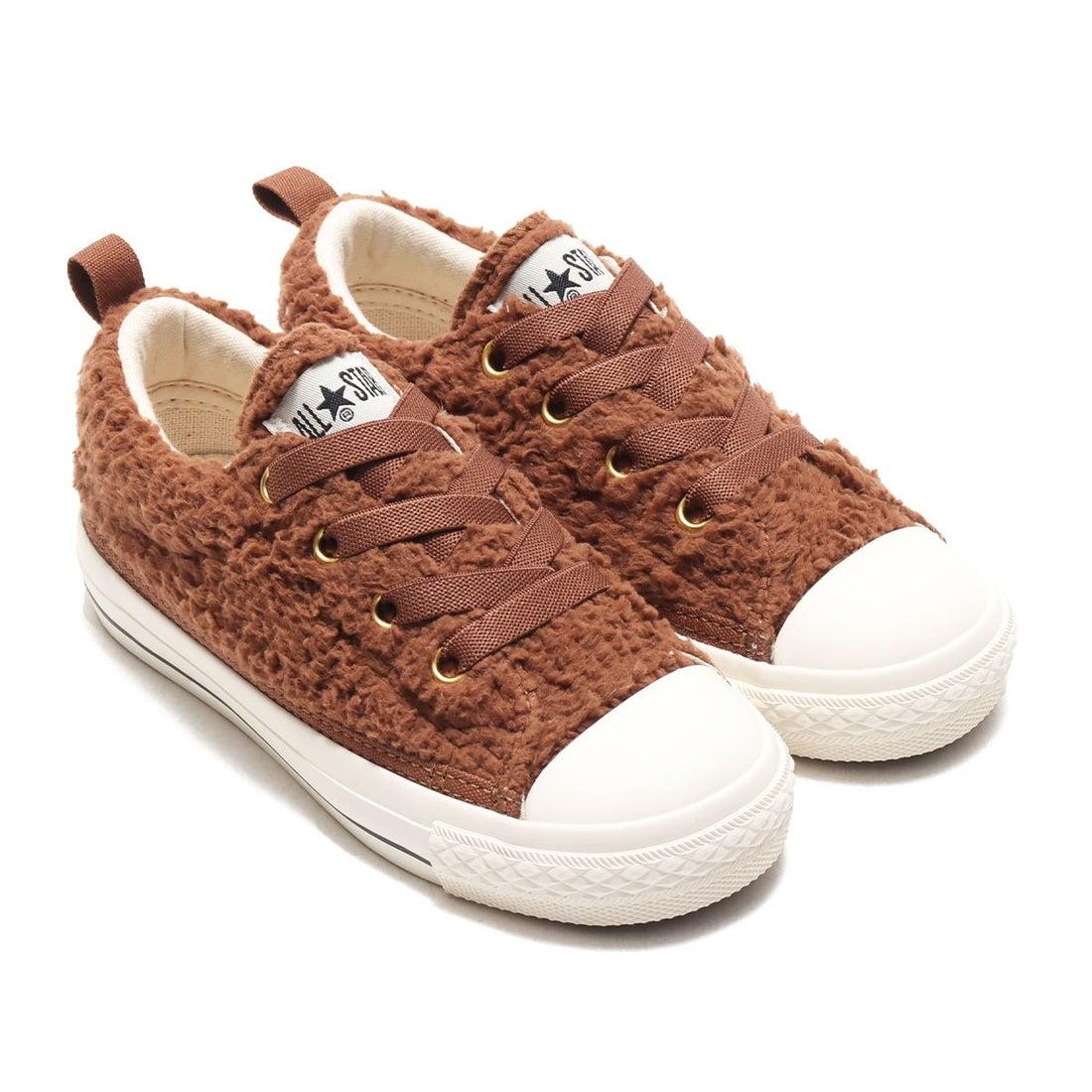 ロコンド 靴とファッションの通販サイトコンバース CONVERSE CHILD ALL STAR N BOA SLIP OX (BROWN)