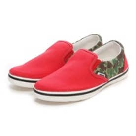 クロックス crocs atmos CROCS NORLIN ATMOS CAMO SLIP-ON MEN(RED/WHITE)