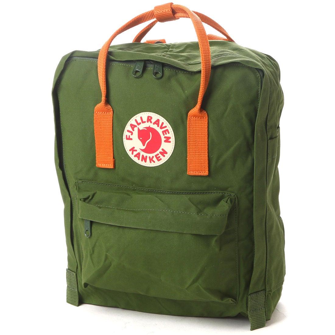 【SALE 10%OFF】フェールラーベン FJALL RAVEN CHAPTER Kanken (Leaf Green-Burnt Orange) レディース メンズ