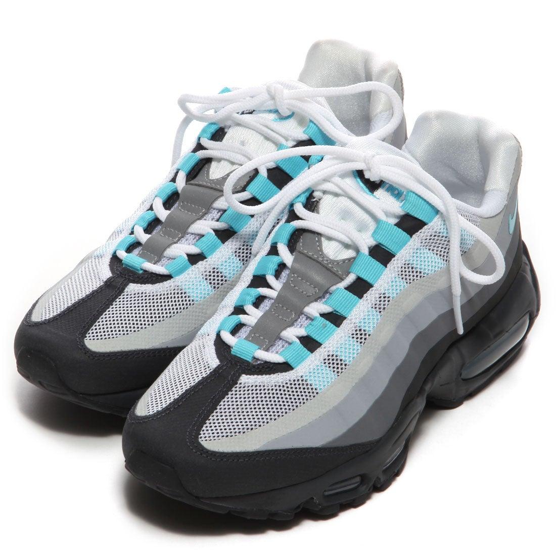 ナイキ NIKE アトモス エアマックス95 ノーソウン(GREY/BLUE) -靴&ファッション通販 ロコンド〜自宅で試着、気軽に返品