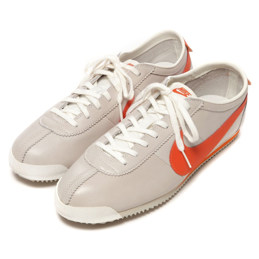 the best attitude 8363a 2ca97 ナイキ NIKE CHAPTER CORTEZ CLASSIC OG LEATHER(SAIL ORANGE) -アウトレット通販 ロコレット  (LOCOLET)