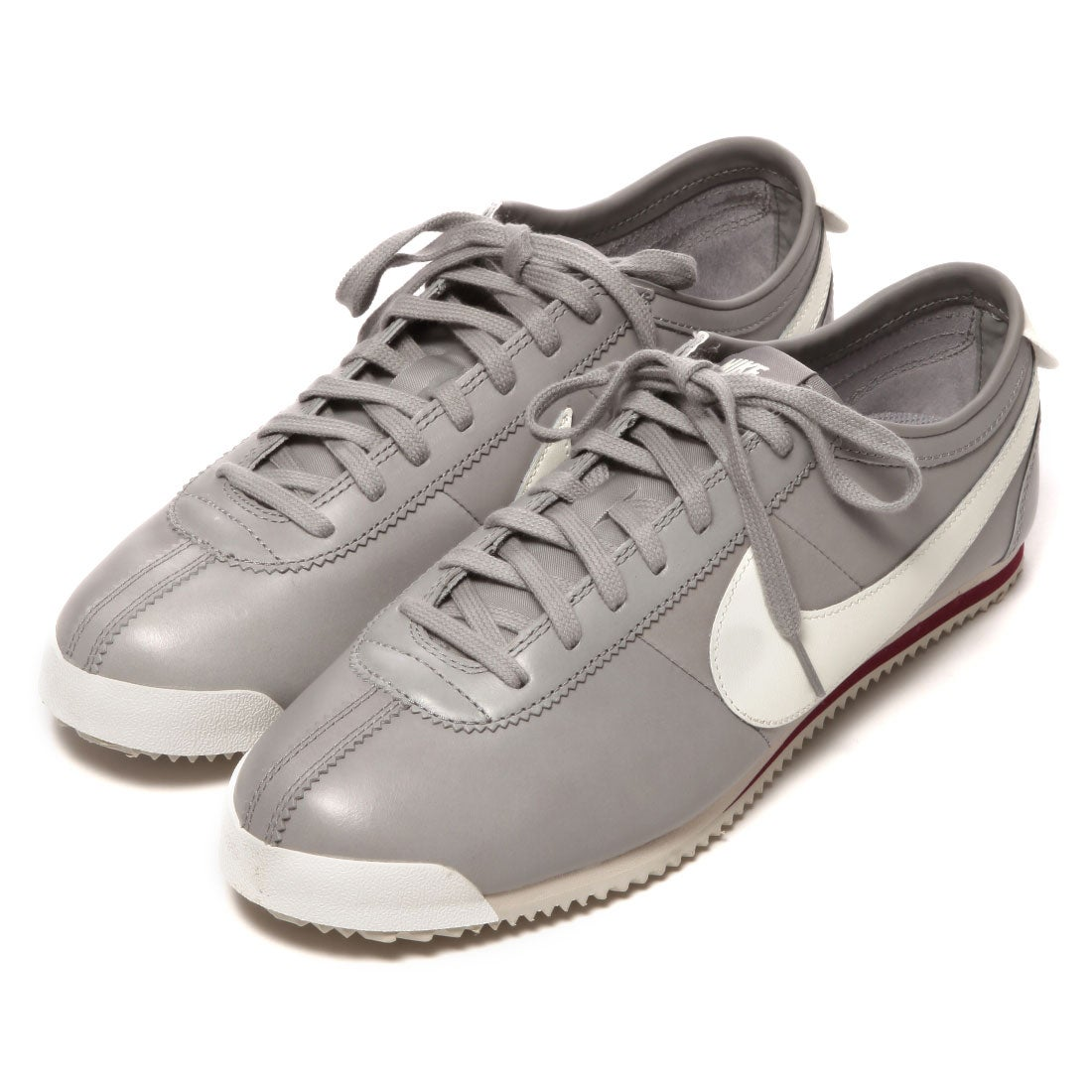 new arrival eb81a 63b0e ナイキ NIKE CHAPTER CORTEZ CLASSIC OG LEATHER(GREY WHITE) -アウトレット通販 ロコレット  (LOCOLET)