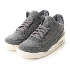 ナイキ NIKE Kinetics AIR JORDAN 3 RETRO WOOL (GREY)