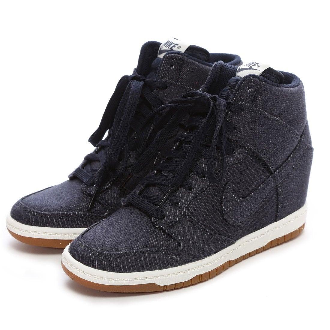 ナイキ NIKE atmos WMNS DUNK SKY HI ESSENTIAL(DENIM) -靴&ファッション通販  ロコンド〜自宅で試着、気軽に返品 8e424312215d