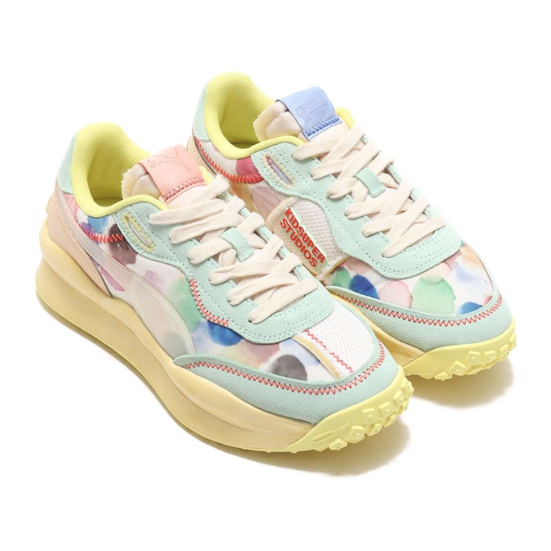 ロコンド 靴とファッションの通販サイトプーマ PUMA STYLE RIDER KIDSUPER (WHITE)