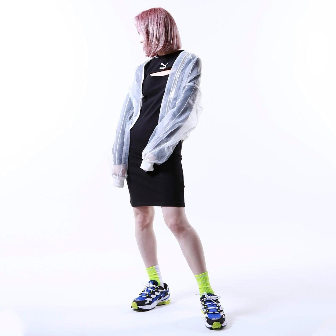 ロコンド 靴とファッションの通販サイトプーマ PUMA PUMA CLASSICS DRESS (BLACK)