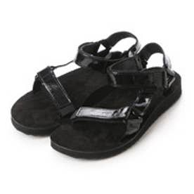テバ TEVA atmos ORIGINAL UNIVERSAL PATENT LEATHER (BLACK)
