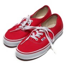 ヴァンズVANSCHAPTERAuthentic(RED)スニーカー