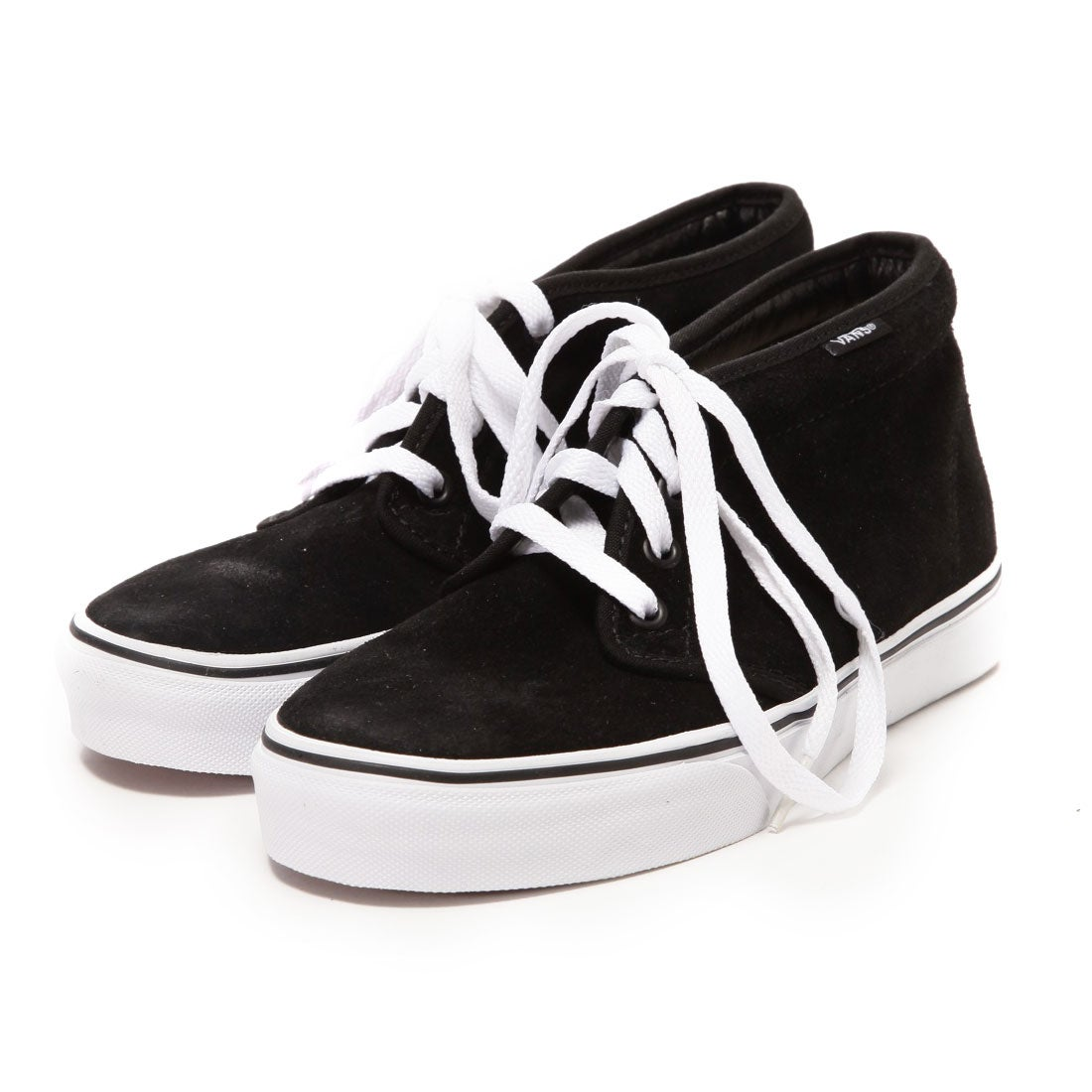 ヴァンズ VANS CHAPTER CHUKKA BOOT(BLACK/WHITE) レディース メンズ