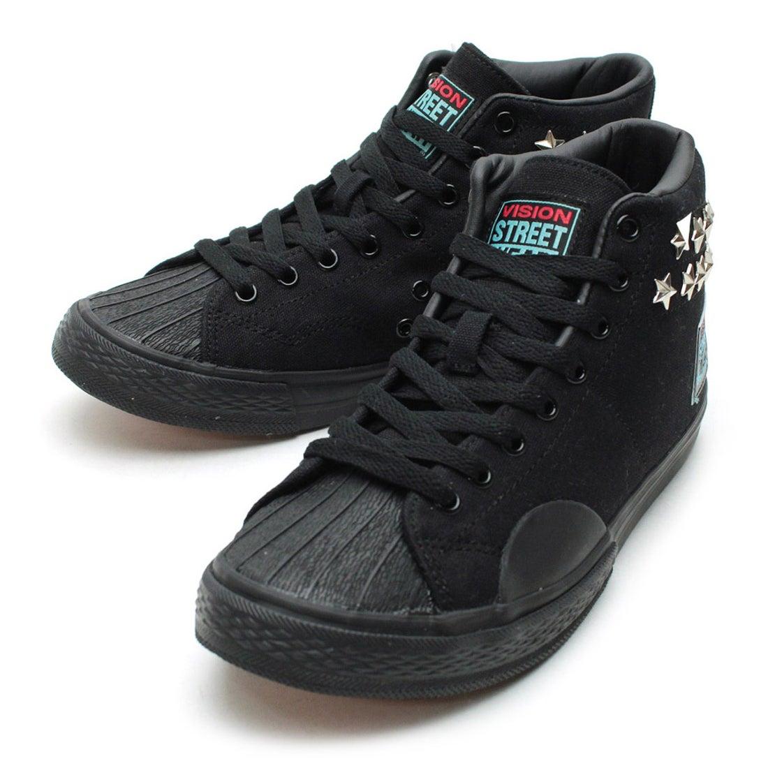 ビジョン ストリート ウェア VISION STREET WEAR CANVAS HI HRJK / HARAJUKU  CHAPTER(BLACK/STAR) ,靴とファッションの通販サイト ロコンド