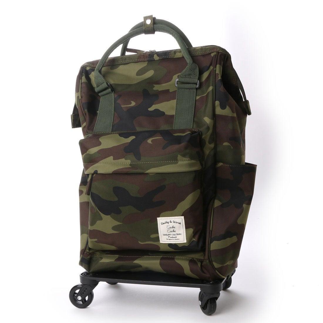 300506f8ae55 カシュカシュ cache cache 口枠リュック型キャリーバッグ (カモフラ) -靴&ファッション通販 ロコンド〜自宅で試着、気軽に返品