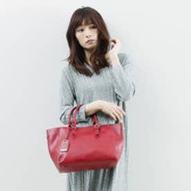 【16FW新色】カカトゥ kakatoo スクエアバックル2wayトートバッグ (ワイン)