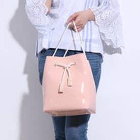 カカトゥ kakatoo 巾着2way口元スカラップバッグ (ピンク)