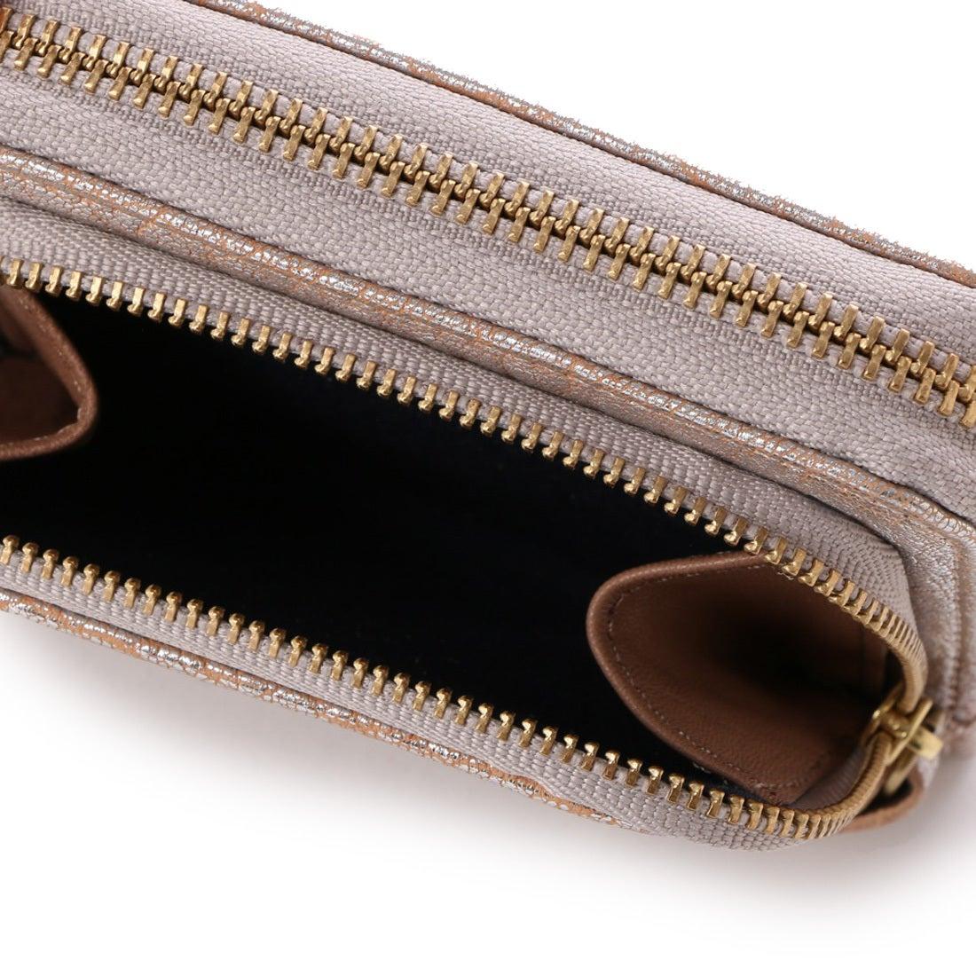 790d4318458d ペルケ (ブラック) 厚口シープタッセル付き二つ折り財布 perche
