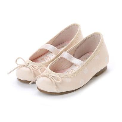 ラウナレアバレエ Launa lea ballet キッズ ラウンドトゥバレエシューズ (アイボリーZ)