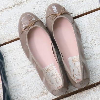 ラウナレアバレエ Launa lea ballet ラウンドトゥバレエシューズ (モカE)