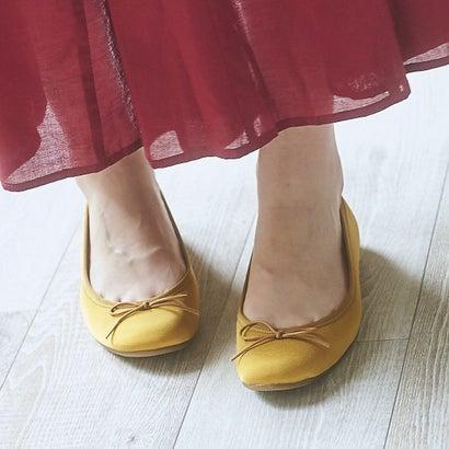 【2018AW】ラウナレアバレエ Launa lea ballet ラウンドトゥバレエシューズ (マスタードZ)