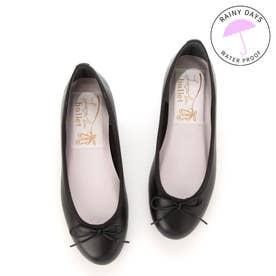 【レイン対応】ラウナレアバレエ Launa lea ballet ラウンドトゥバレエシューズ (ブラック)