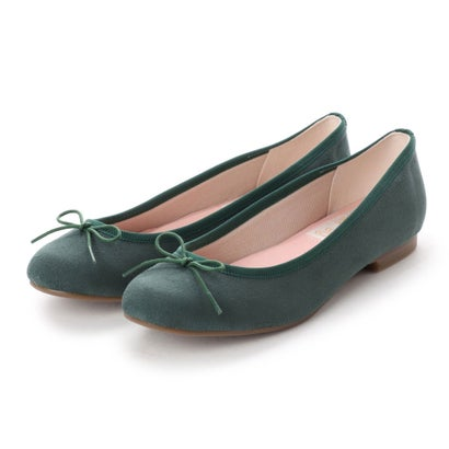 【2018AW】ラウナレアバレエ Launa lea ballet ラウンドトゥバレエシューズ (グリーンS)