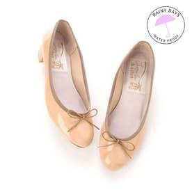 【レイン対応】ラウナレアバレエ Launa lea ballet RainyDay ラウンドトゥヒールバレエシューズ (PKベージュE)