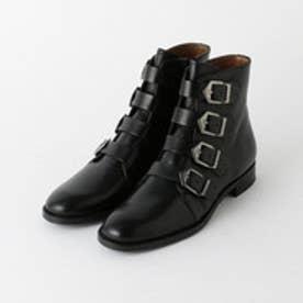 オデット エ オディール ODETTE E ODILE ペルティーニ/Pertini ベルテッドショートブーツ (BLACK)