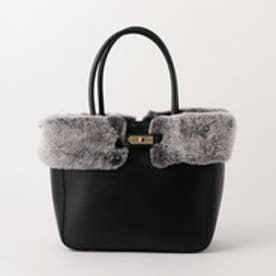 オデット エ オディール ODETTE E ODILE O Fur-ベルト トートバッグ (BLACK)