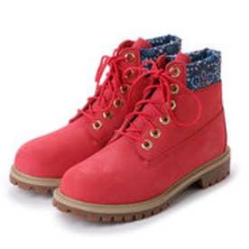 ティンバーランド Timberland シックスインチ プレミアム ウォータープルーフ ブーツ(Junior/防水) (ピンク)