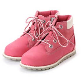ティンバーランド Timberland ポーキーパイン シックスインチブーツwithサイドジップ(Toddler) (ピンク)