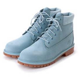 ティンバーランド Timberland シックスインチ プレミアム ウォータープルーフ ブーツ(Junior/防水) (ライトブルー)