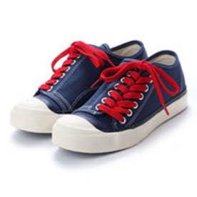 ディガウト DIGOUT DEAN (Low-Top Vulcanized Sneakers) (NAVY)