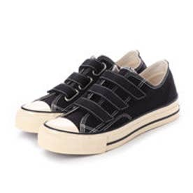 ディガウト DIGOUT JULIAN (Low-Top Vulcanized Sneakers) (BLACK)
