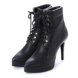 ディガウト DIGOUT BEY (Pin Heels Work Boots) (BLACK)