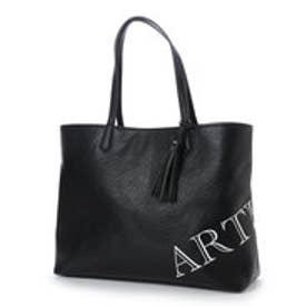 アルセラピィ artherapie ロゴマニア トートバッグ (ブラック×ホワイト)