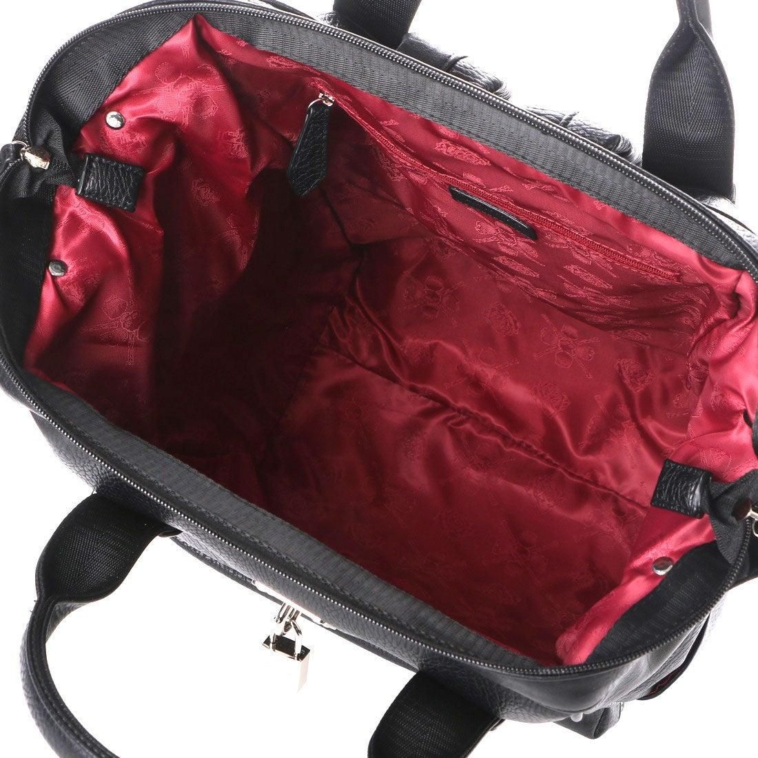 bf3325065e56 アルセラピィ artherapie クラッシュスタッズ クチガネリュックL (ブラック) -靴&ファッション通販 ロコンド〜自宅で試着、気軽に返品