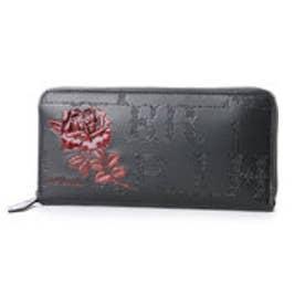 アルセラピィ artherapie フィセルローズ ラウンドジップ長財布 (ブラック×レッド)