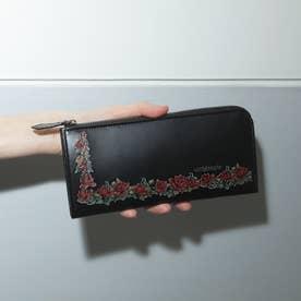 アルセラピィ artherapie ローズリース L字ジップ長財布 (ブラック)