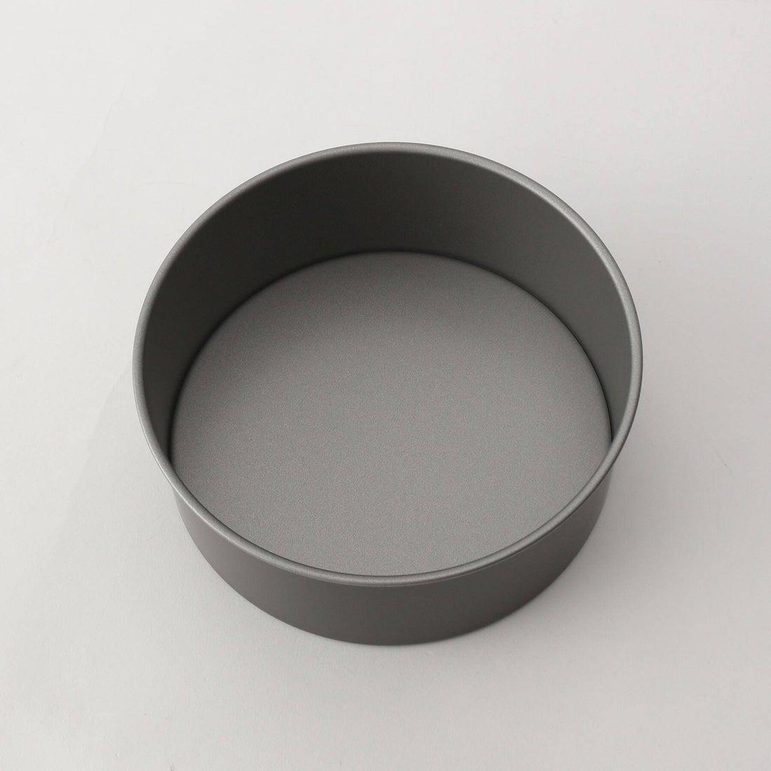 トゥーワントゥーキッチン ストア 212 KITCHEN STORE DELISH KITCHEN (デリッシュキッチン) ふっ素加工ホールケーキ型 15cm (底取れ式) (グレー)