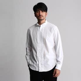 フォーティーカラッツアンドゴーニーゴ 40CARATS&525 ベルベットコールシャツ (ホワイト)