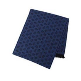 フォーティーカラッツアンドゴーニーゴ 40CARATS&525 ペイズリーマフラー (ブルー)