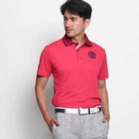 アダバット adabat クールコア(R)衿ボーダーポロシャツ (ピンク系)