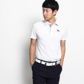 アダバット adabat 【WEB限定】【¥9500+税】半袖ポロシャツ (ホワイト)
