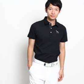アダバット adabat 【WEB限定】【¥9500+税】半袖ポロシャツ (ブラック)