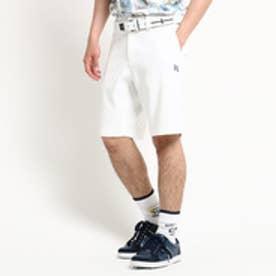 アダバット adabat 【防透け】【洗える】ホワイトショートパンツ (ホワイト)