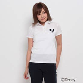 アダバット adabat WEB限定「ミッキーマウス」半袖ポロシャツ (ホワイト)