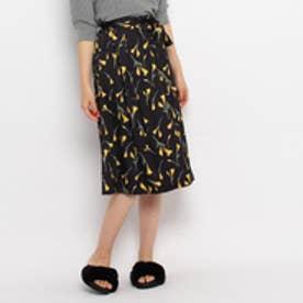 エージー バイ アクアガール AG by aquagirl レトロフラワースカート (ブラック)