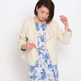 エージー バイ アクアガール AG by aquagirl ライダースジャケット (アイボリー)