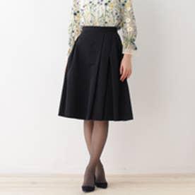 アナトリエ anatelier 【WEB先行販売】グログランスカート (ネイビー)
